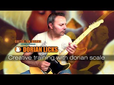 Dorian Guitar Licks