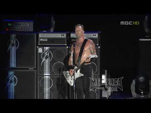 LIVE | HD | Metallica - Master of Puppets @ Seoul 2006
