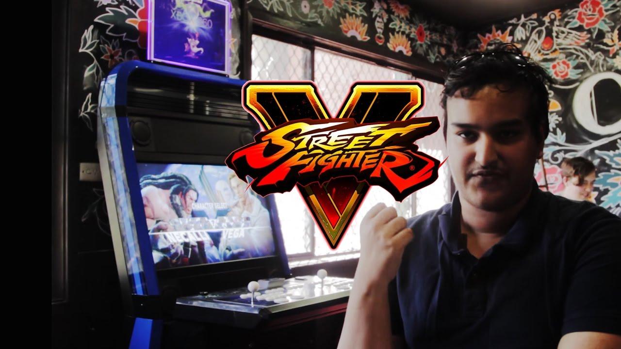 Street Fighter 5 Arcade Machine At University Of Newcastle Youtube