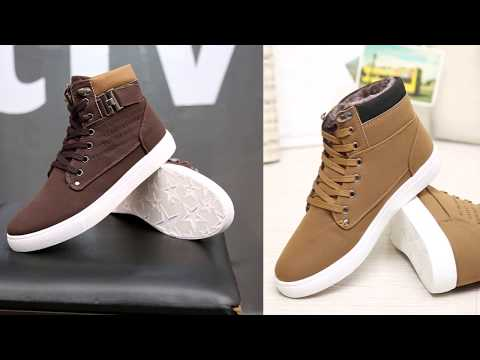 f889584e6 10 Мужские зимние ботинки с Алиэкспресс AliExpress Winter shoes men Крутая зимняя  обувь из Китая