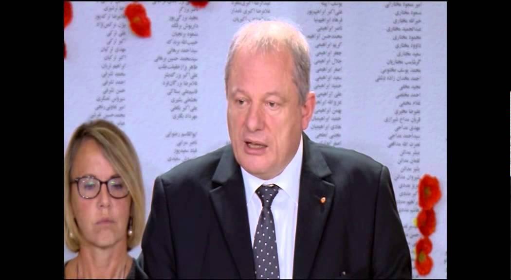 Le maire Jean Pierre Muller