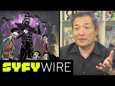DC Comics Publisher Jim Lee Teases Dark Nights Metal Events | SYFY WIRE