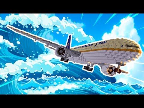 Plane Tsunami Challenge - Airplane vs Fighter Jet Tsunami