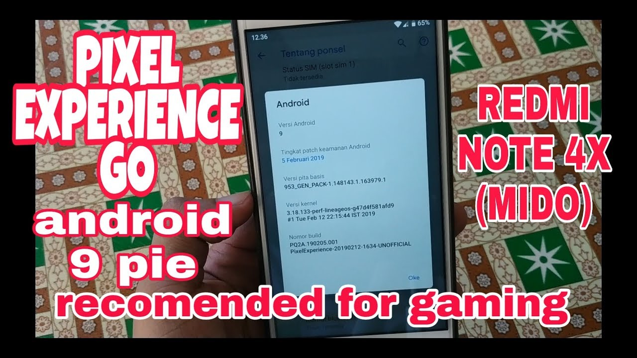 RECOMENDED FOR GAMING  !! REVIEW CUSROM PIXEL EXPERIENCE GO