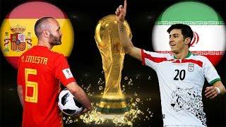 [Résumé] Espagne 1 - 0 Iran   Tous Les Buts !