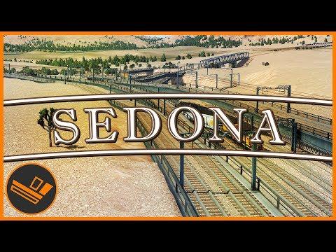 Sedona - Part 58   TRAIN INTERCHANGE (Cities: Skylines)