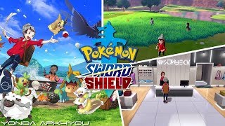 New Items And Features! Pokémon Sword & Shield - New Gameplay Trailer