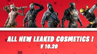 Fortnite All New Leaked Cosmetics In v10.20 Update ! Season X