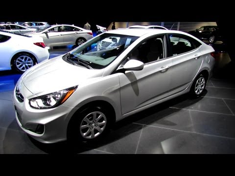 2013 Hyundai Accent - Exterior and Interior Walkaround - 2012 Los Angeles Auto Show