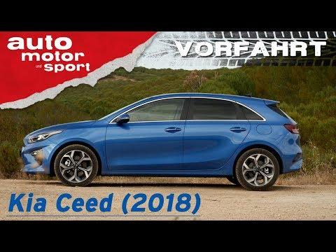 Kia Ceed (2018): Warum eigentlich noch Golf? – Vorfahrt (Review) | auto motor und sport