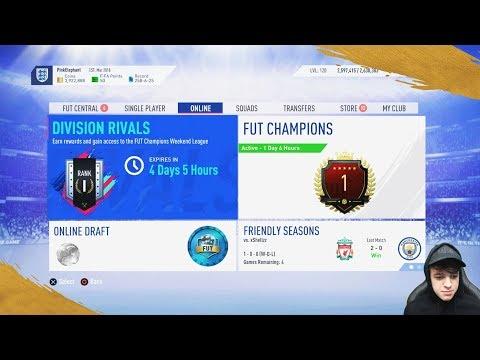 MY FUT CHAMPIONS REWARDS + RANK 1 DIVISON RIVAL REWARDS!! FIFA 19 Ultimate Team