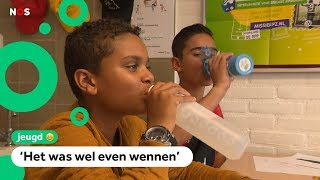 Deze kinderen drinken alleen nog kraanwater op school