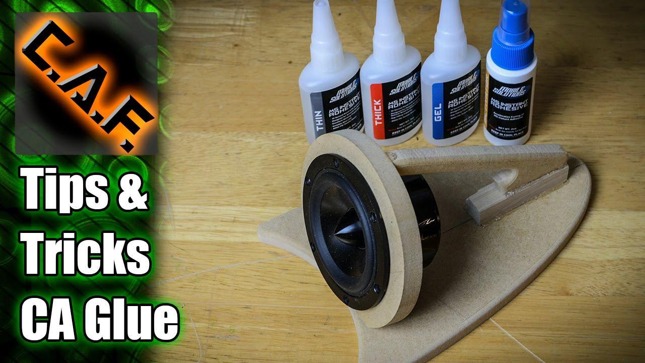 CA Glue TIPS & TRICKS - CarAudioFabrication