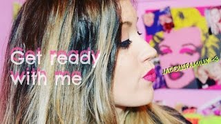 Get ready with me   Makeup & OOTD ♡