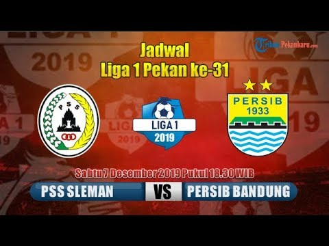 Video Jadwal Liga  Pekan Ke  Live Streaming Tv Online Pss