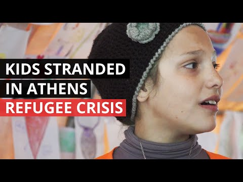REFUGEE CRISIS | Children Surviving on the Streets of Athens