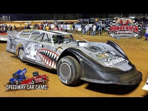 #4 Cody Mahoney - Super Late Model - 10-14-17 Ponderosa Speedway - In Car Camera