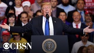 President Donald Trump hosts 'MAGA' Rally in Tennessee