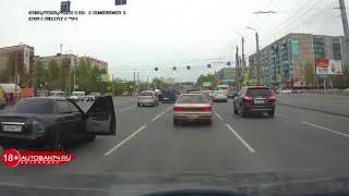 Подборка видео ДТП в Челябинске №1