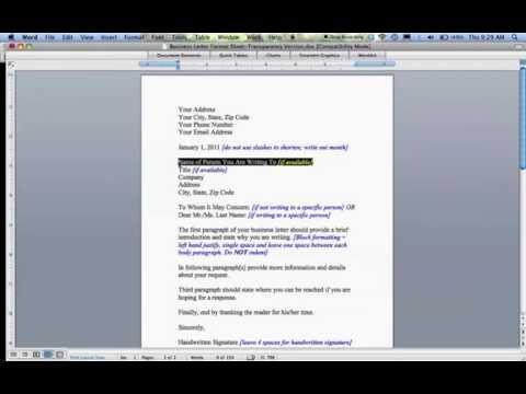 how-to-write-a-business-letter