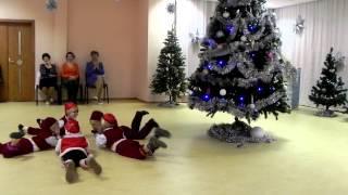Новый год в детском саду. Танец гномиков.