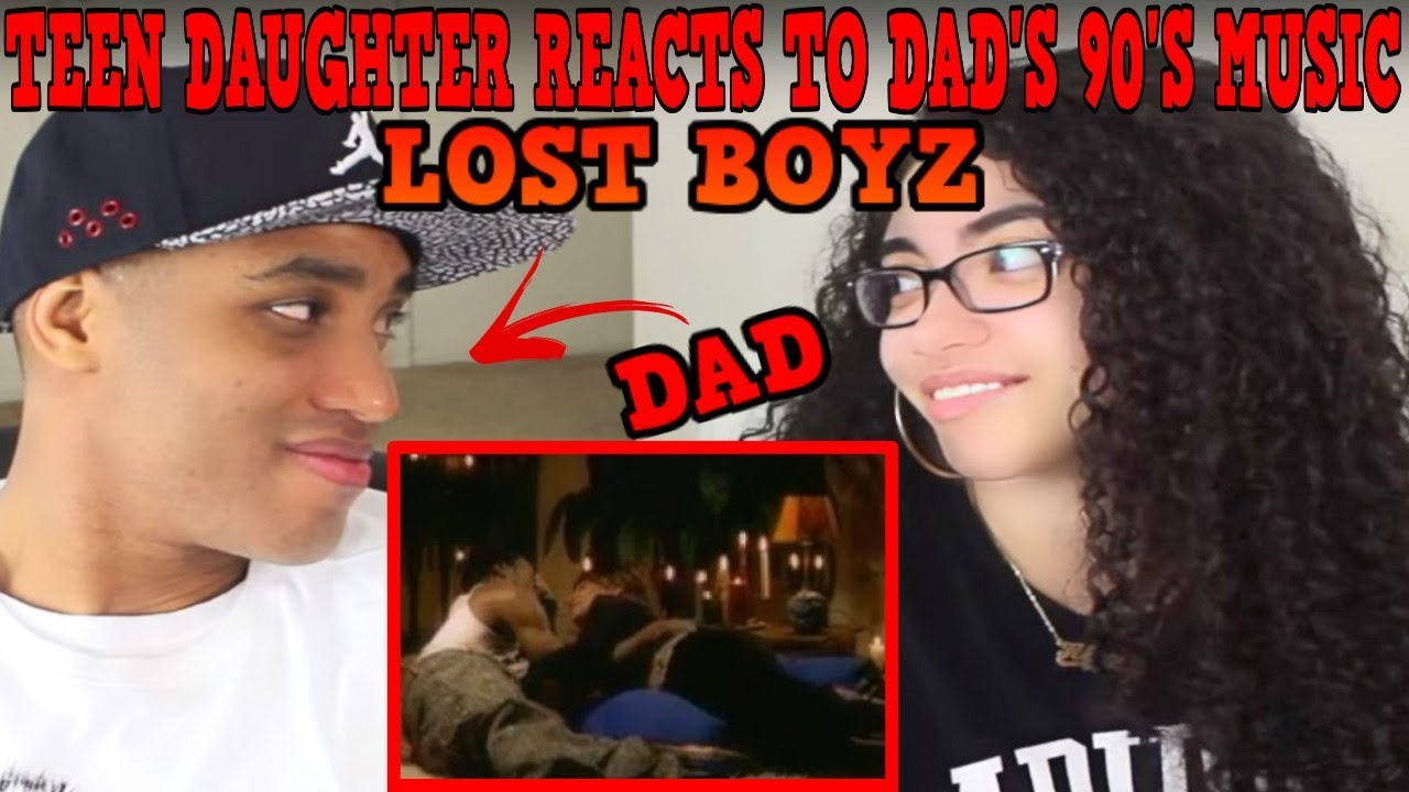 Teen Daughter Reacts To Dad's 90's Hip Hop Rap Music | Lost Boyz - Renee REACTION