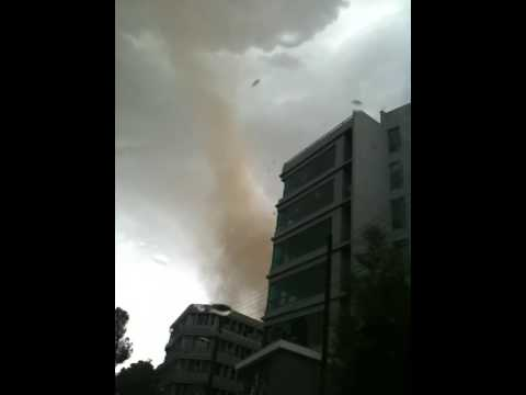 TORNADO IN NICOSIA CYPRUS CREATED BY THE BRITISH