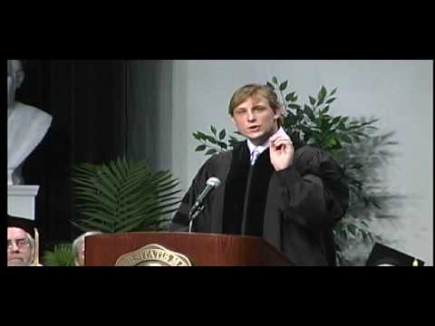 Marshall University:  Chad Pennington 172nd Commencement Speaker Part 1