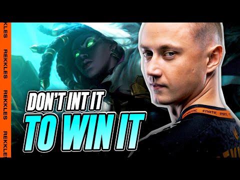 Rekkles | SENNA ADC: Don't INT it to WIN it!