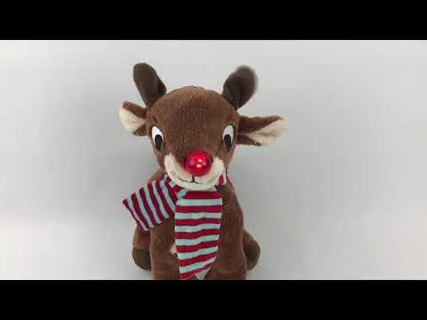 Dandee Rudolph Singing Plush