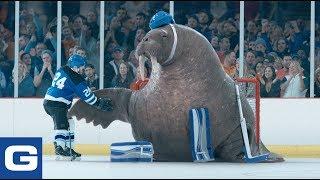 Walrus Goalie - GEICO Insurance