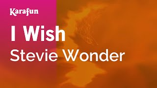 Karaoke I Wish - Stevie Wonder *