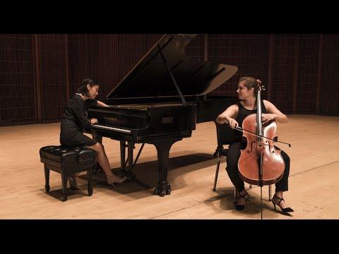 """Jalbert Cello Sonata"" performed by Shepherd School of Music cello-piano duo"