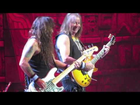 Iron Maiden - The Red And The Black live @ United Center, Chicago - 6th April 2016