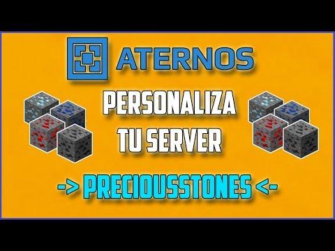 ATERNOS !! Configura Y Protege Con PRECIOUSSTONES - Personaliza Tu Server [2017][Full] | Español