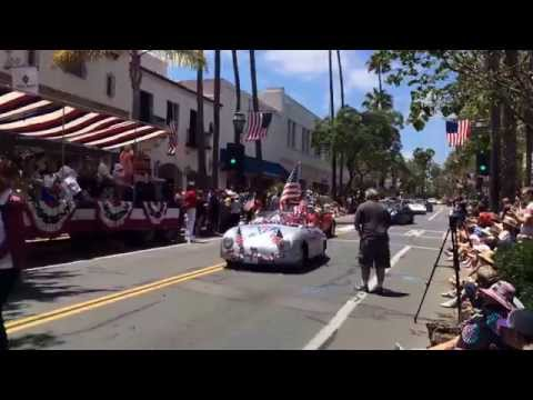 Santa Barbara 4th of July Parade - 7/4/2015 - Downtown State Street