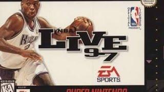 NBA Live 97 (Super Nintendo)