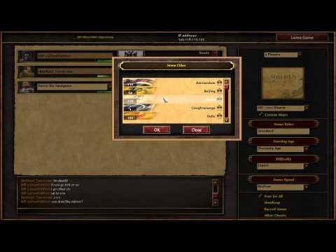 [AOE 3 - TAD] KGB - GR tournament finals Veni vs Terrorista BO 5 + bonus game