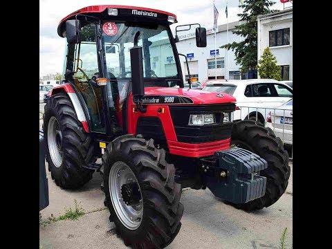 Трактор Mahindra 9500 с кабиной и реверсом купить Agrotractor.com.ua