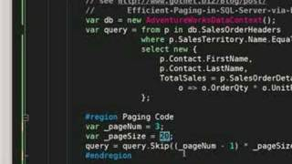 How to use the Skip and Take extension methods in Microsoft .NET La...