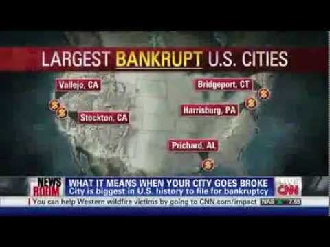 UNITED STATES BANKRUPT CITY DEBT WITHOUT BALLAST $ 123,6 TRILLION DOLLARS  2015 DETROIT CALIFORNIA