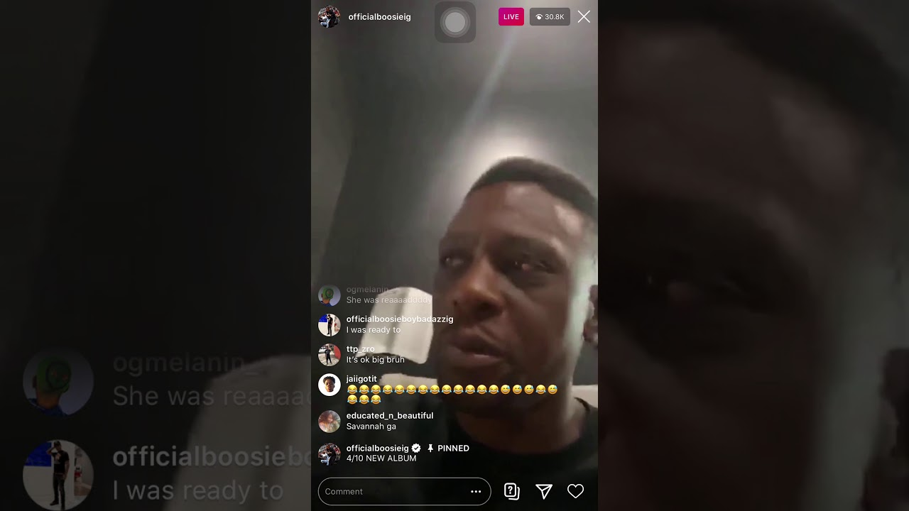 LIL BOOSIE IG LIVE - GIRL GETS NAKED - YouTube