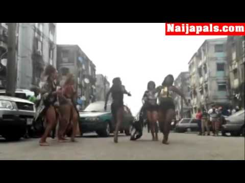 Ciara Dancing To Nigerian Songs In Delphin Estate, Lagos (Naijapals.com)