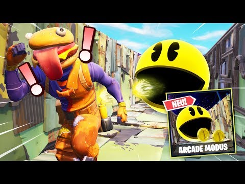 *NEU* PACMAN Arcade Modus in FORTNITE
