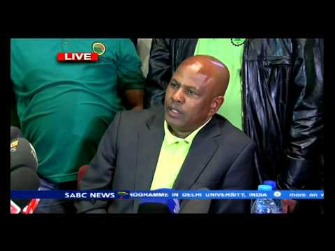 Amcu wage agreement press briefing