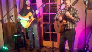 Matis ben Yosef with Adam Breese at FireWorks Open Mic, 7/18/11