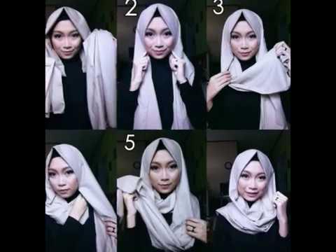 20 Cara Memakai Hijab Pashmina Simple Paling Cantik Dan Menarik Youtube