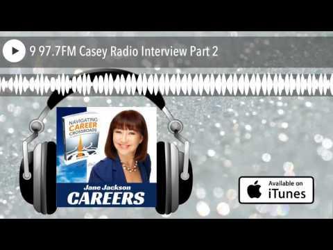 9 97.7FM Casey Radio Interview Part 2