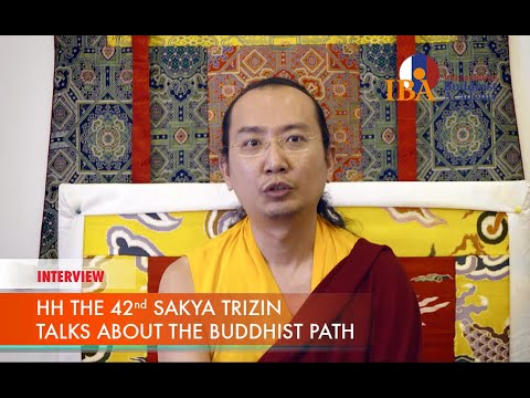 hh-42-sakya-trizin-ratna-vajra-rinpoche-talks-about-the-buddhist-path-(complete-interview)