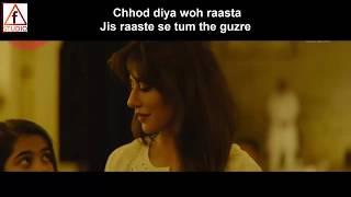 Chhod Diya | Lyrical  Song | Arijit singh | Saif a khan | Baazaar | Radhika apte | chitrangda s